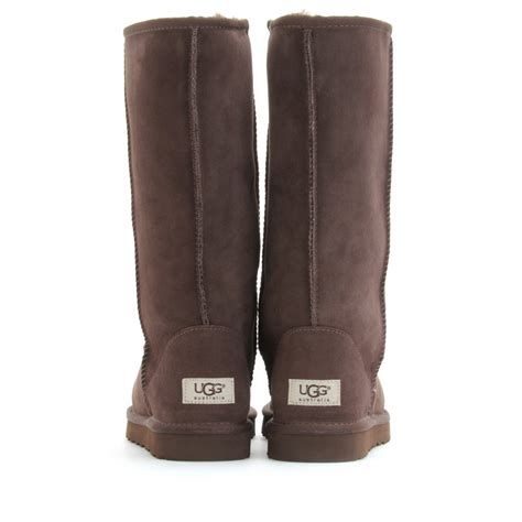 in ugg boots lyst ugg classic boots in brown