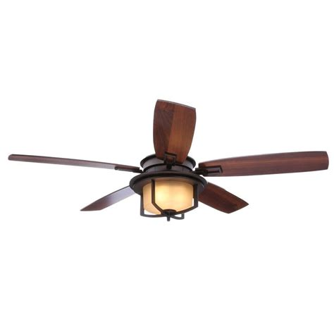 Bronze Ceiling Fans With Lights Hton Bay Eastvale 52 In Indoor Berre Walnut Ceiling Fan With Light Kit 14413 The Home Depot