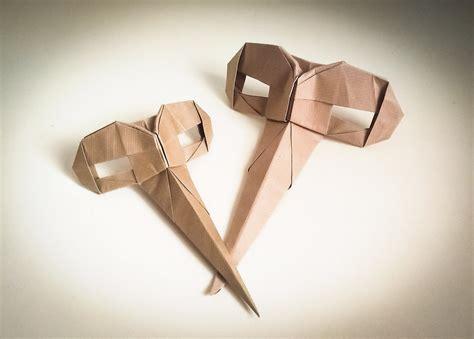 Origami Mask - origami parnassus mask riccardo foschi simple design