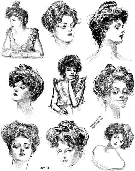 hairstyles for sufferattes the gibson girl un ideal de belleza a la manera
