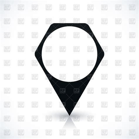 vector map generator blank black hexagonal map maker royalty free vector clip