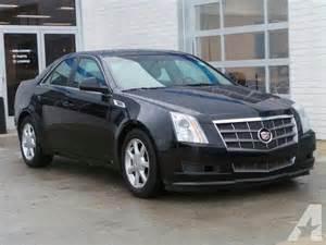 2009 Cadillac Cts 3 6l 2009 Cadillac Cts 3 6l Di Awd 3 6l Di 4dr Sedan W 1sb For