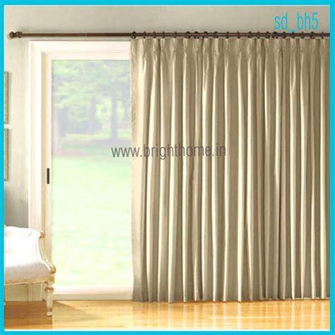 Sliding Glass Door Curtain Patterns Decorate The House
