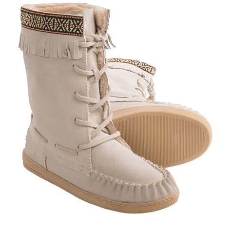 moccasin boots for grizzleez by zigi cer moccasin boots for save 77