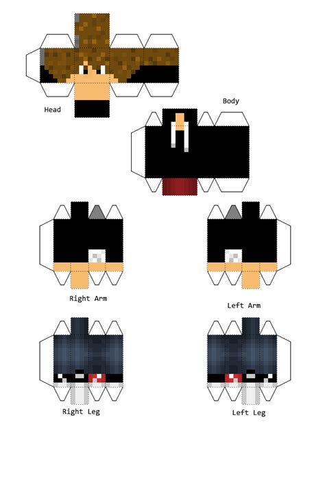 Minecraft Papercraft Generator - papercraft luzuvlogs en minecraft