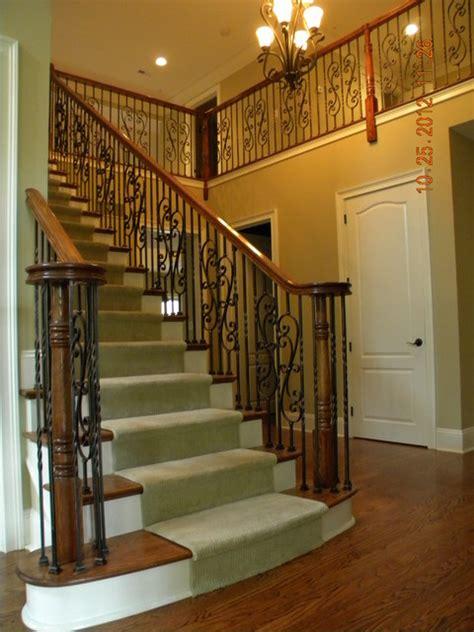 elegant staircases elegant staircase iron balusters huntingdon valley pa