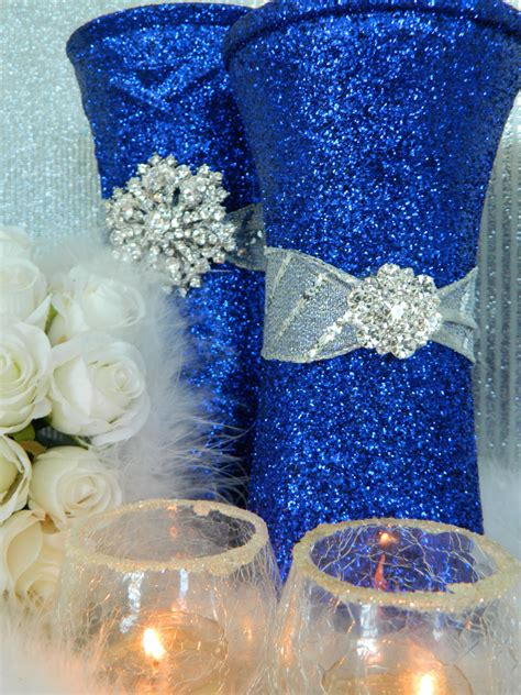 Blue And Silver Decorations by Navy Blue And Silver Wedding Decorations