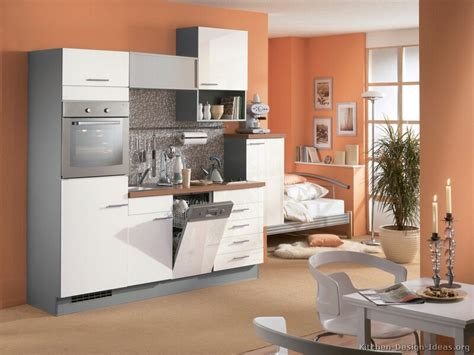 Two Wall Kitchen Design Pictures Of Kitchens Modern Two Tone Kitchen Cabinets Page 7