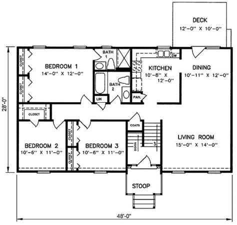 split floor plan 1970s split level house plans split level house plan