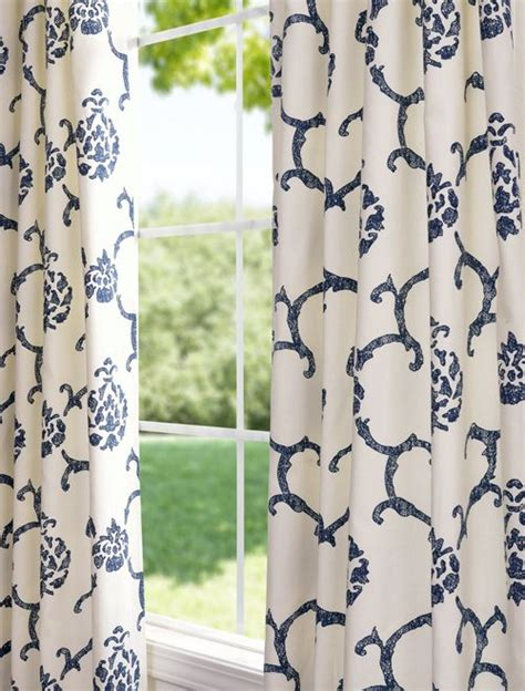blue and white print curtains best 25 light blue curtains ideas on pinterest