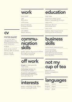 Resume Never Had A Job by 1000 Ideas About Resume Layout On Pinterest Resume