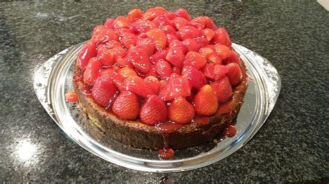 Cheesecake Rezept Erdbeer by Erdbeer Cheesecake Rezept Mit Bild Dirkfenske