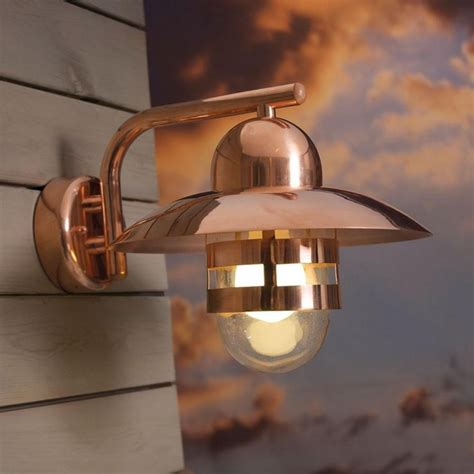 saxby odyssey 35w twin copper ip44 outdoor up down wall