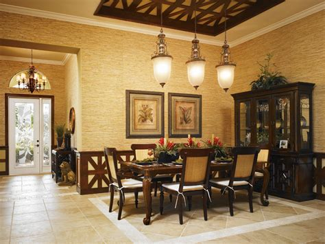 dining room in spanish cordova at spanish wells luxury new homes in bonita