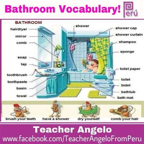 english word for bathroom 141 best vocabulary esl images on pinterest english