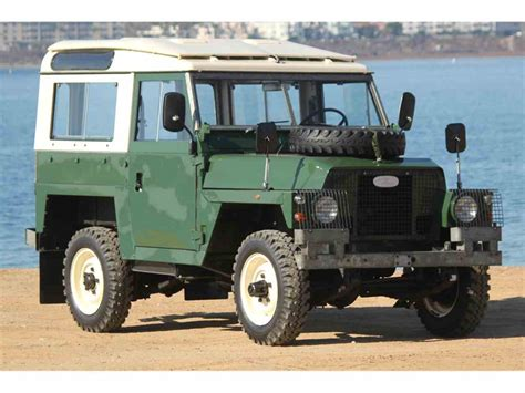 land rover for sale 1978 land rover series iia for sale classiccars com cc