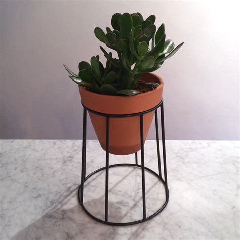 Plant Holder - plant pot holder small an artful