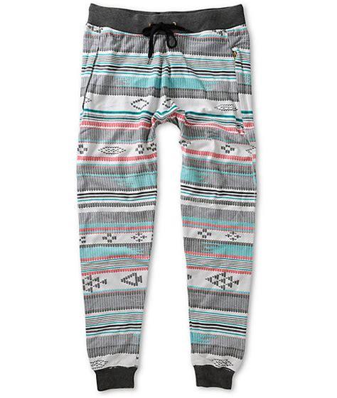 Aztec Pattern Joggers | a lab pillage aztec jogger pants