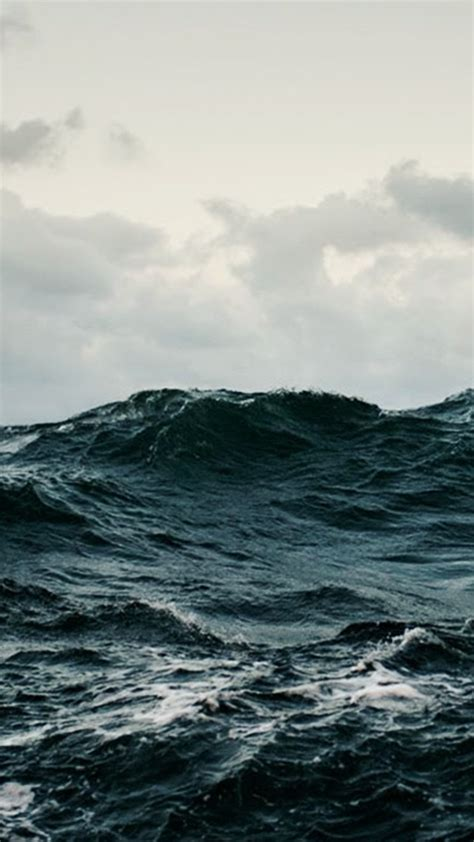 hd stormy sea wallpaper  android phones