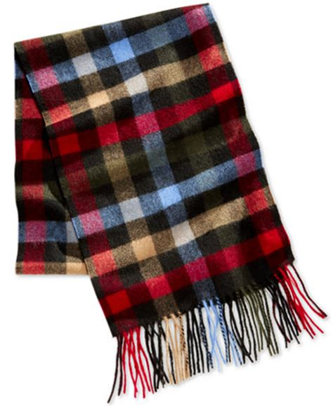 club room s plaid scarf only at macy s
