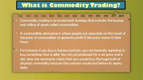 bank commodity trading sebi issues framework for commodity options