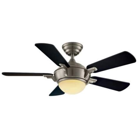 Home Depot Ceiling Fans With Remote by Hton Bay Midili 44 In Brushed Nickel Indoor Ceiling