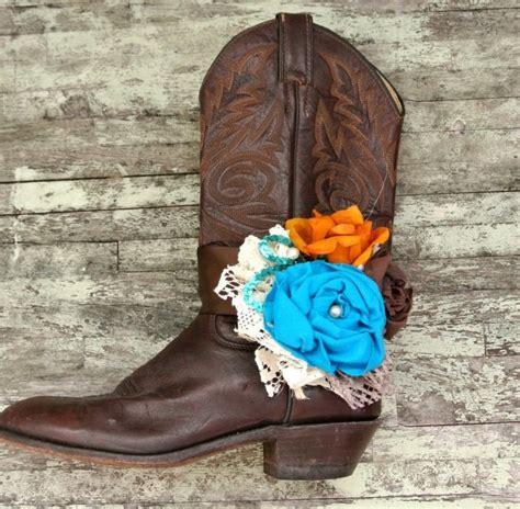 shabby boot bracelet cowboy boots embellished boot
