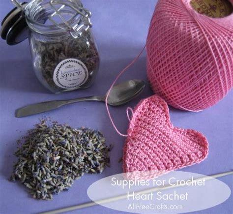 crochet lavender bags pattern free crochet heart sachet free pattern