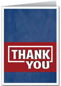 professional thank you card 1282 harrison greetings business greeting cards humor