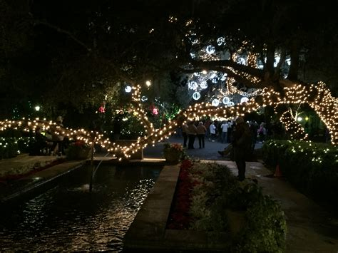 magic christmas in lights at bellingrath gardens sand in