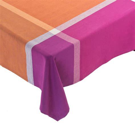 Nappe En Fete by Nappe Couleurs En F 234 Te Orange Violet Cadeau Gift Be