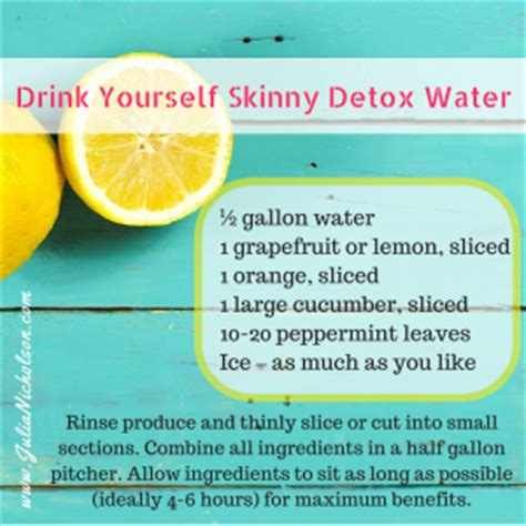 Can You Drink Detox Water While by Drink Yourself Detox Water Nicholson