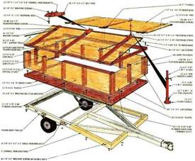 Diy Hard Floor Camper Trailer Plans Build A Homemade Camping Trailer Do It Yourself Mother