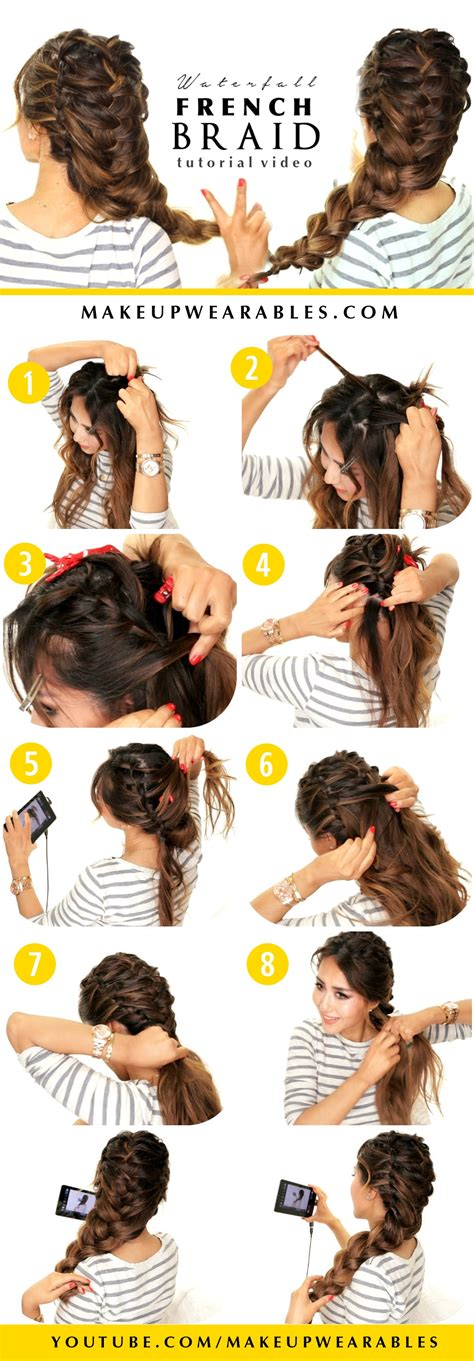 Hairstyles For With Medium Hair For School Step By Step by Beautiful Hairstyles For School Step By Step
