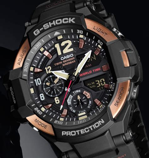 G Shock Gshock Gg 1100 Black Gold casio g shock master of g watches in vintage gold