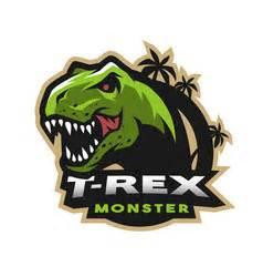 tyrannosaurus dinosaur linework royalty  vector image