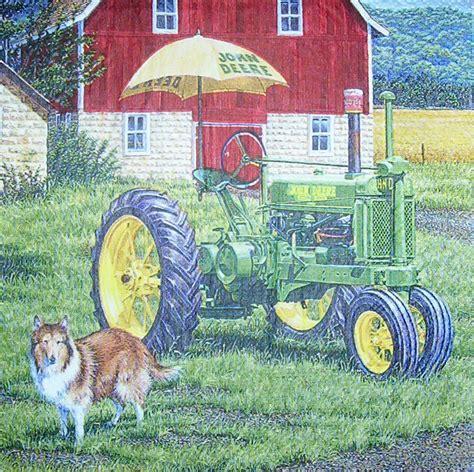 3d Motive 4668 by 0795 Deere Traktor Serviette Www Susipuppis