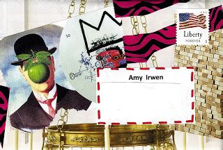 piro's mail art: two atc's i just made today for amy irwen