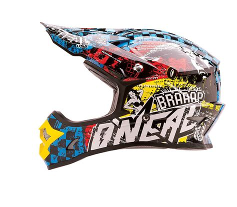 oneal motocross gear oneal 3 series kids wild multi motocross helmet
