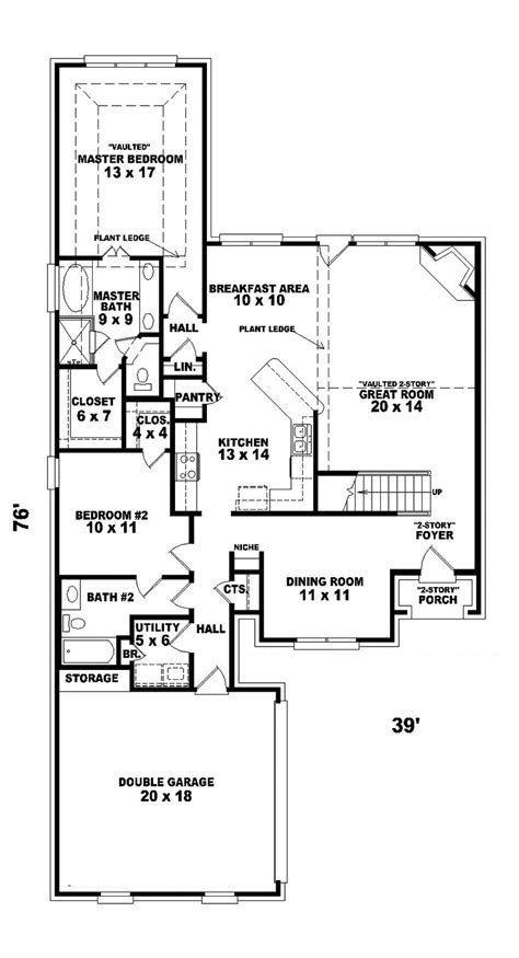 House Plans And More Greenpoint European Home Plan 087d 0438 House Plans And More
