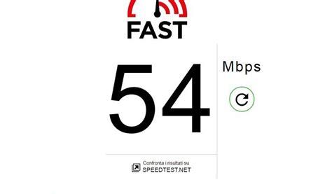 test della connessione test velocit 224 gratis netflix lancia fast