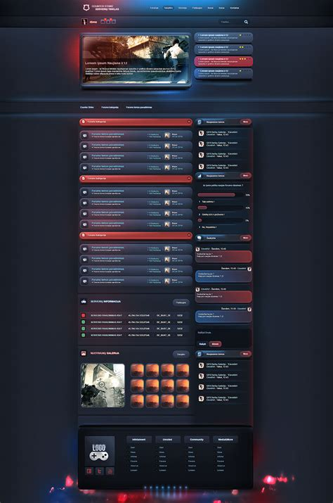 gaming templates esport gaming forum template
