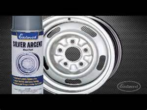silver argent rally wheel paint from eastwood youtube
