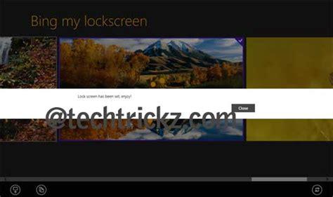 wallpaper engine lock screen set bing images as windows 8 lock screen wallpaper