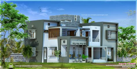 Home Designs Modern House Design In 2850 Square Feet Home Kerala Plans