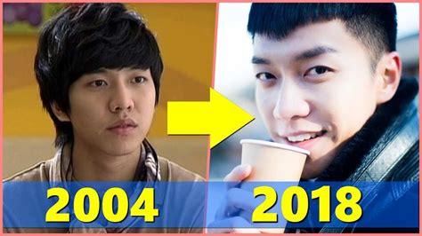 lee seung gi before surgery a korean odyssey lee seung gi evolution 2004 2018 youtube