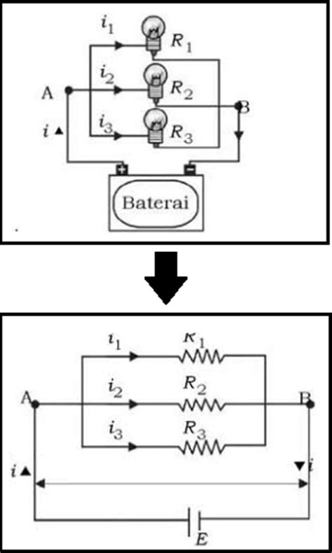 resistor hambatan rangkaian pararel resistor hambatan