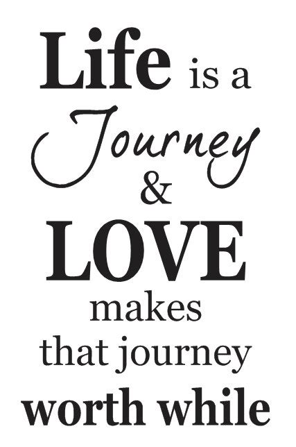 inspirational quote stencils printable primitive stencil life is a journey love makes that
