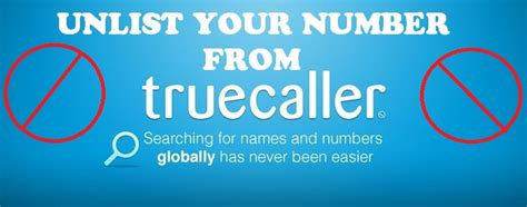 How To Remove Your Name From True Search How To Remove Number From Truecaller