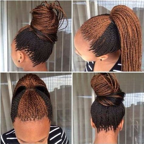 adding color to braids for highlights 35 micro braids hairstyles for african american women